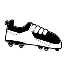 Soccer sport shoe vector