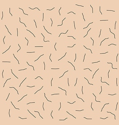 Skin with unshaven bristle pattern vector image