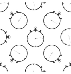 Timer icon pattern vector image vector image