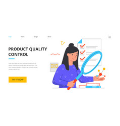 Defective product testing vector