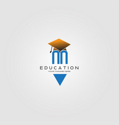 Education logo template logo for international vector