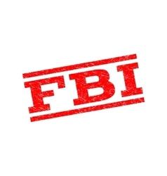 FBI Watermark Stamp vector image