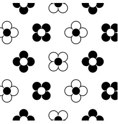 flower natural floral decoration seamless pattern vector image