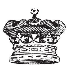 Princess coronet of a princess of england vintage vector