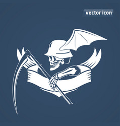 Skeleton with spit vector