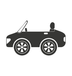 Sport style car isolated icon design vector
