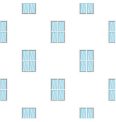 White rectangle window pattern flat vector