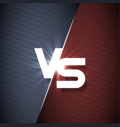 white vs letter energy conflict game versus screen vector image