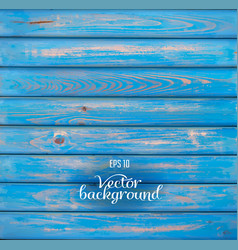 Wood plank blue background vector