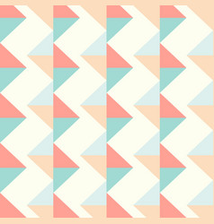zigzag triangle pattern vector image