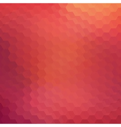 Red bright abstract mosaic background vector image
