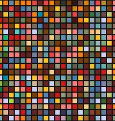 Abstract geometric seamless background of color vector