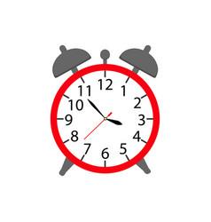alarm a clock icon in color ware up vector image