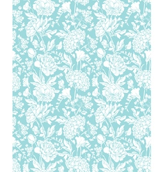 Blue flowers 3 380 vector