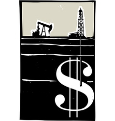 Drilling for Money vector