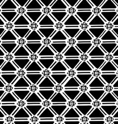 Ethnic geometric seamless pattern vector
