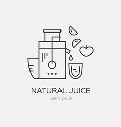 Juice Maker vector