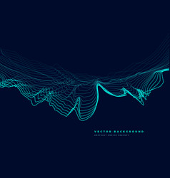 Particle top speed landscape vector
