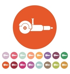 The grinder icon Grinder symbol Flat vector image
