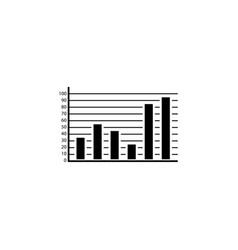 Web marketing analytics solid icon vector