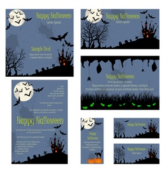 Invitation Card Set vector image