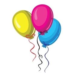 Color baloon vector