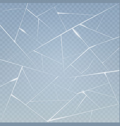 ice surface background vector image