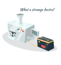 Machine or device element for concepts on business vector image