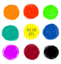 multicolored stains vector image