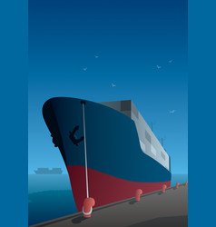 shipping vector image