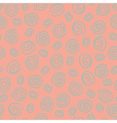 Abstract pattern spiral pink vector image