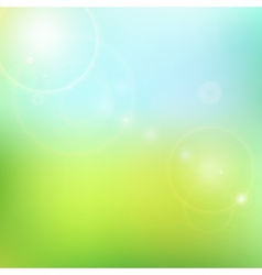 Blur blue and green background vector