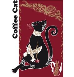 Catcoffee2 vector