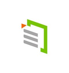 Data technology business company logo vector