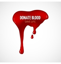 Blood donation poster royalty free vector image donate blood poster vector image thecheapjerseys Gallery