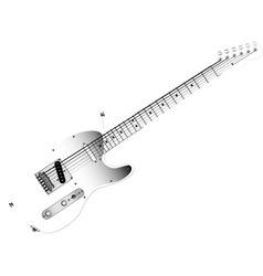 Glass Guitar vector