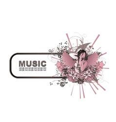 Music frame vector