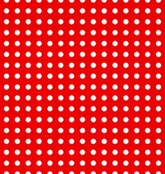 Seamless dotted pattern vector image