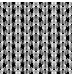 seamless pattern in folk style vector image