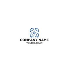 simple home improvement logo designs vector image
