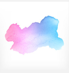 watercolor background watercolor splash on white vector image