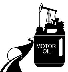 Engine oil vector image