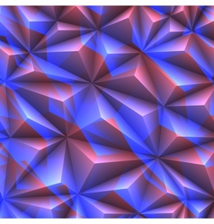 Abstract texture of crystals vector image