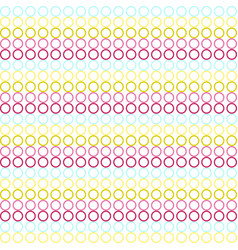 Circles colored colorful background vector