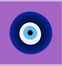 Evil eye protection sign protect symbol from vector