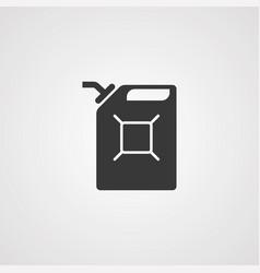 fuel can icon sign symbol vector image