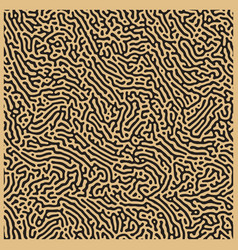 Monochrome reaction diffusion seamless pattern vector