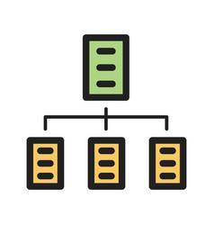 Organizations network vector
