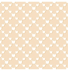 Romantic abstract seamless pattern background vector image