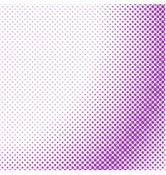 simple halftone dot background pattern template vector image